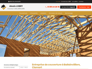 Couverture Lobry, entreprise de couverture à Ballainvilliers et Clamart