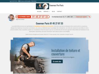 Détails : Couvreur professionnel et efficace à Paris et banlieue