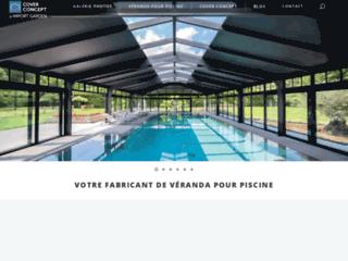 Détails : Cover Concept : le spécialiste de la véranda de piscine en aluminium