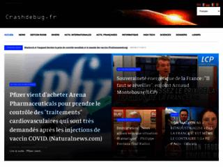 Crashdebug.fr, l'actualité sans détour