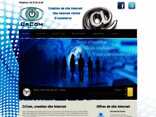 Détails : CrCom : Réalisation et référencement de sites internet