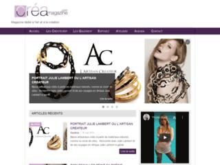 Détails : Magazine web dédié à la création artistique
