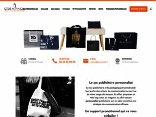 Créa'Pack : spécialiste des sacs publicitaires personnalisés