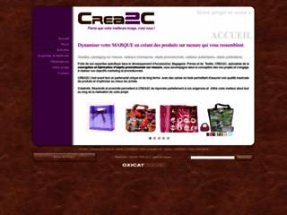 Détails : Crea2c, conception d'articles publicitaires personnalisés