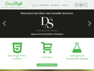 Détails : Développeur web à Perpignan CreaSteph