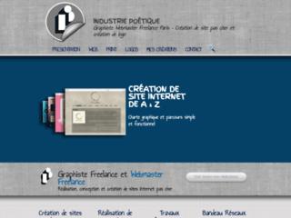 Détails : Graphiste webmaster création de site