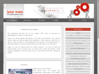 Détails : Création et développement de sites internet