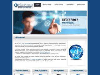 Détails : Site gratuit