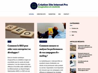 Détails : Création site internet professionnel