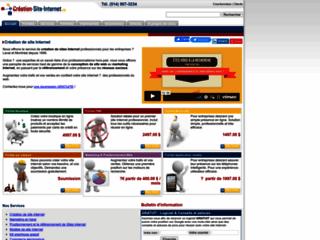 Détails : Création Site Internet .ca, le portail d'iSolunet