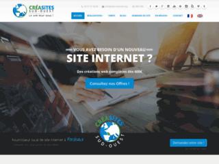 Détails : Création de site internet Bordeaux - CréaSites Sud-Ouest