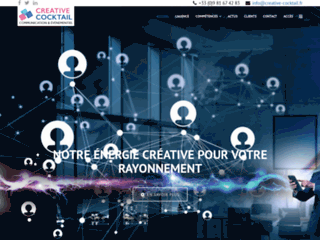 Création de sites internet à Auxerre | Creative Cocktail