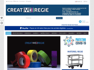 Détails : Créative Régie, matériel audiovisuel professionnel