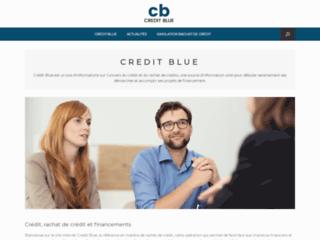 Crédit Blue : le rachat de crédit en ligne