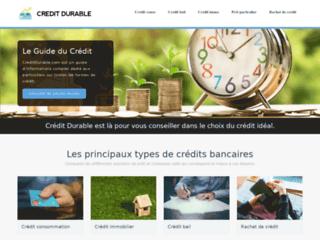 Crédit Durable : emprunter au meilleur taux d'intérêt