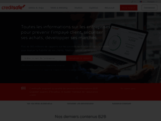 Détails : Rapports de solvabilités gratuits avec Creditsafe France