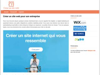 Les intérêts de la création d'un site web