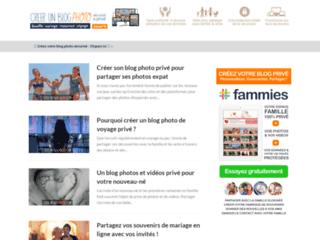 Détails : Créer un blog photo, plateforme de blog photo sécurisé