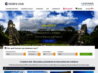 Croisière Club : des professionnels des croisières à votre service