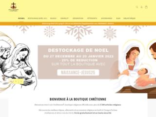 Croix Chrétiennes : vente de bijoux religieux
