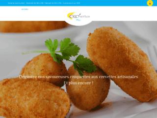 Cro'vettes : croquettes aux crevettes et autres produits