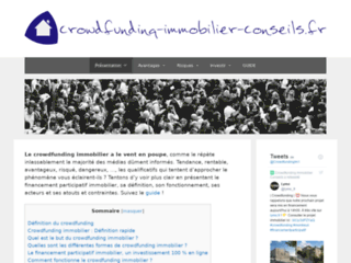 Crowdfunding Immobilier Conseils