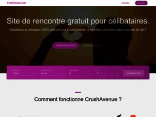 Détails : CrushAvenue, le site de rencontre gratuit pour célibataires