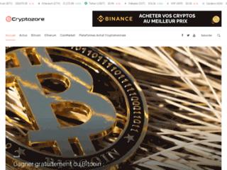 Site d'informations sur les cryptomonnaies