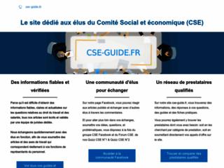 Cse-guide.fr : Comité Social et Economique (CSE)