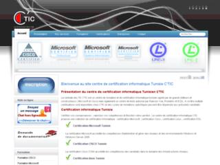 Détails : Centre de certification informatique C'TIC