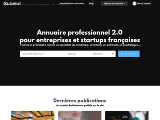 Détails : Annuaire dédié aux jeunes entreprises et startup