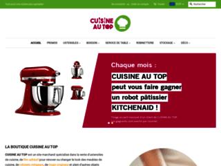 Détails : Vente ustensiles - Cuisine au Top