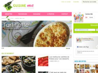 Détails : CuisineMe - la cuisine en toute simplicité
