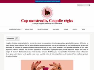 Une cup menstruelle ou une coupe menstruelle?