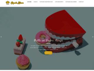 Détails : Cupcake Avenue : un site de recettes de cupcakes fabuleux !