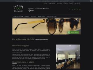 Des lunettes de sport