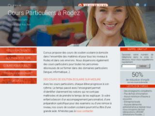 Détails : Cours particuliers à domicile - www.cursus-soutien-scolaire.com