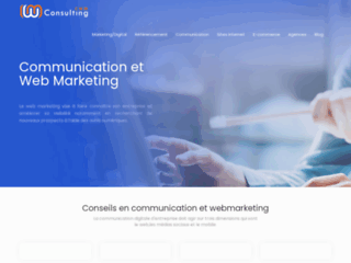 Détails : CWM Consulting, communication web
