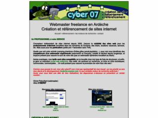 Cyber07 - Création et référencement de site web