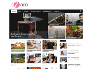 Détails : Czam.fr - blog de buzz au féminin traitant de l'actualité, de la beauté et de la mode, des mondes du cinéma, de la télévision et de la musique