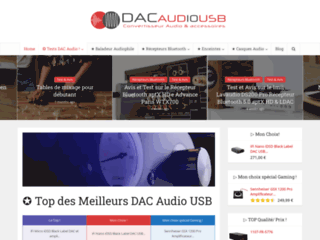 Meilleur DAC Audio