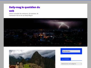 Détails : Blog d'actualité