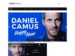 Détails : Daniel Camus, humoriste et comédien