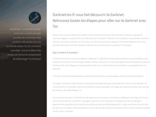 Darknet - Accès au reseau Tor
