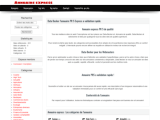 annuaire a validation instantanée