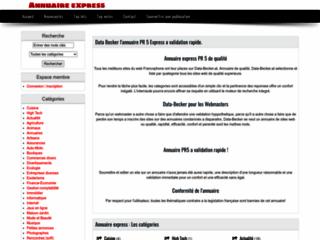 Détails : Un annuaire à validation automatique