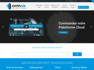 Détails : Datagix, solution DataCenter et Cloud