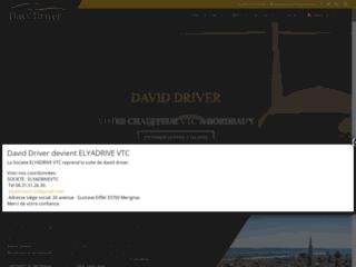 Détails : David Driver VTC