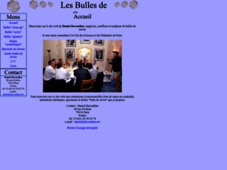 Détails : Daniel Davoudian : magicien, sculpteur et faiseur de bulles de savon