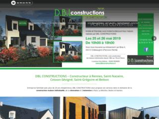 DBL Constructions : maison individuelle à Rennes et Saint-Nazaire